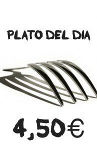 Plato del Dia 4,50€
